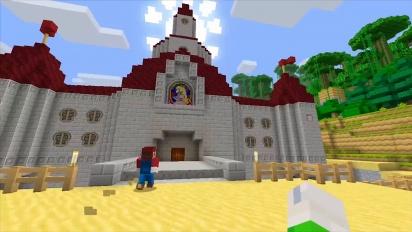 Minecraft: Wii U Edition - Super Mario Mash Up Pack Trailer