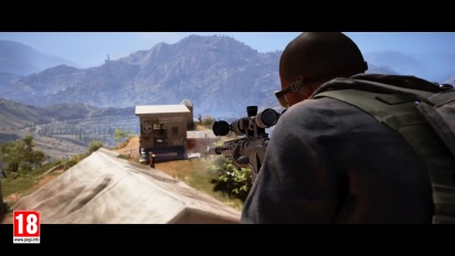 Ghost Recon: Wildlands - avoimen betan traileri