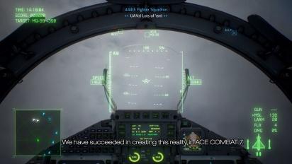 Ace Combat 7: Skies Unknown - Gamescom-pelikuvaa kommenttien kera