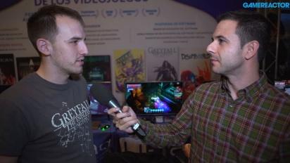 Greyfall: The Endless Dungeon - Mikel Aretxabala haastattelussa