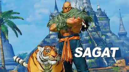 Street Fighter V: Arcade Edition - Sagat -pelikuvatraileri