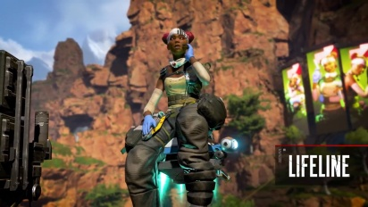Meet Lifeline - Apex Legends Character -traileri