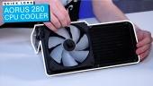 Nopea katsaus - Aorus 280 CPU Cooler