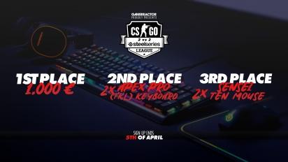 2 vs 2 CS:GO Nordic Tournament - Pelaa voittaaksesi 1000 euron pääpalkinnon!