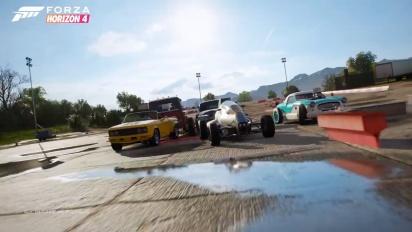 Forza Horizon 4 - Hot Wheels Legends Car Pack -traileri