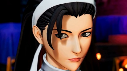The King of Fighters XV - Chizuru Kagurai Character -traileri