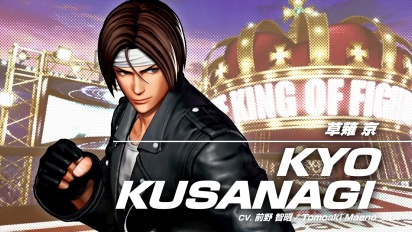 The King of Fighters XV - Kyo Kusanagi Character -traileri