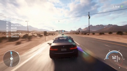 Need For Speed Payback - 'Burning Point' PC-pelikuvaa 4K 60 FPS