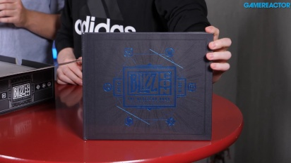 BlizzCon Swag Box - Unboksaus