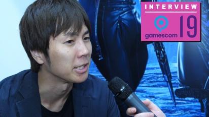 Code Vein - Keita Iizuka Gamescom 2019 haastattelussa
