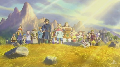 Ni No Kuni II: Revenant Kingdom - PSX-traileri