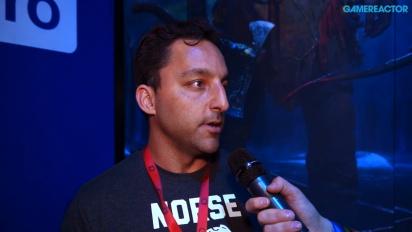 God of War - haastattelussa Aaron Kaufman