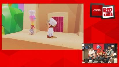 Super Mario Odyssey - Luncheon Kingdom Gamescom-pelikuvaa