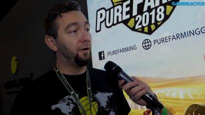 Pure Farming 2018 - Pawel Jawor haastattelussa