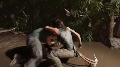 Shadow of the Tomb Raider - Combat Tactics -traileri