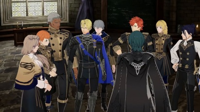 Fire Emblem: Three Houses - Blue Lion House