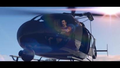 Grand Theft Auto V & Grand Theft Auto Online - PlayStation Showcase 2021 Traileri