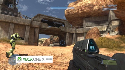 Halo 3, High Ground - grafiikkavertailu: Xbox 360 vs. Xbox One X