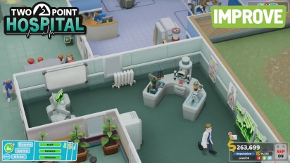 Two Point Hospital - PC Gaming Show 2018 -traileri