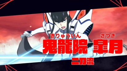 Kill la Kill the Game: IF - Satsuki Kiryuuin -hahmotraileri
