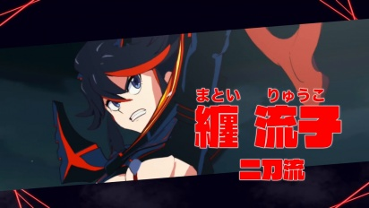 Kill la Kill the Game: IF - Ryuuko Matoi -hahmotraileri