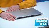 Nopea katsaus - Huawei Matebook D15