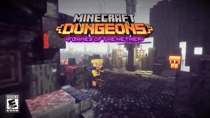 Minecraft Dungeons: Flames of the Nether – virallinen julkaisutraileri