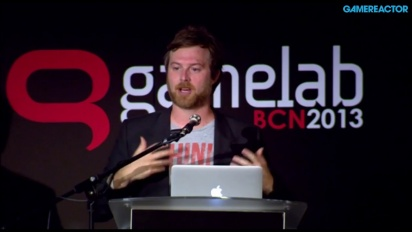Patrice Desilets kertoi urastaan Gamelabsissa