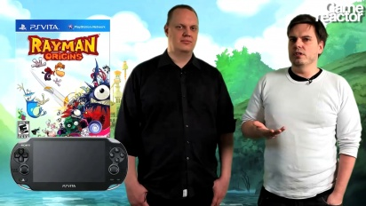 Rayman Origins: PS Vita -arvio