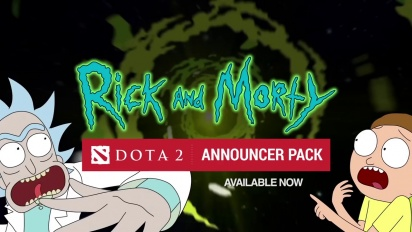 Dota 2: Rick and Morty Announcer Pack -traileri