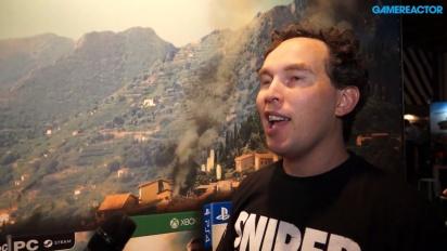 Sniper Elite 4 - haastattelussa Chris Payton