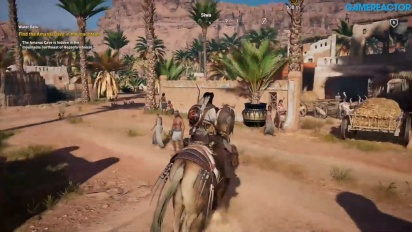 Gamereactor pelaa - Assassin's Creed Origins