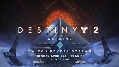 Destiny 2 - Warmind-paljastustraileri