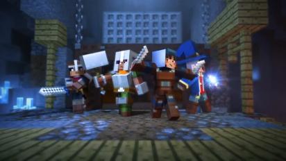 Minecraft Dungeons - julkistustraileri