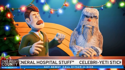 Two Point Hospital: Bigfoot DLC - virallinen traileri