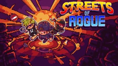 Streets of Rogue - julkaisutraileri