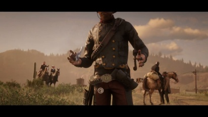Red Dead Online - Bounty Hunters -traileri