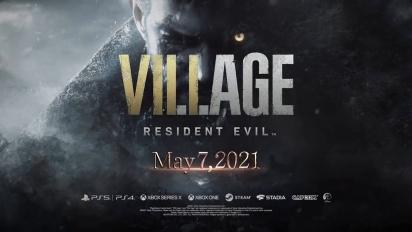 Resident Evil Village - julkaisutraileri