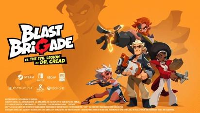 Blast Brigade - julkistustraileri