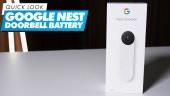 Nopea katsaus - Google Nest Doorbell Battery