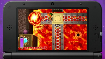The Legend of Zelda: A Link Between Worlds - Dungeon Trailer