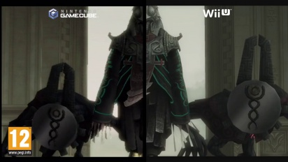 The Legend of Zelda: Twilight Princess HD - Official Wii U vs Gamecube Comparison