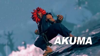 Street Fighter V - Akuma-traileri
