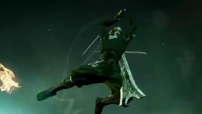 TGS 08: Ninja Blade - Aerial Ninja Battle Cinematic Trailer