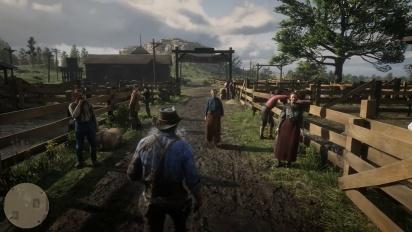 Red Dead Redemption 2 - virallista pelikuvaa osa 2