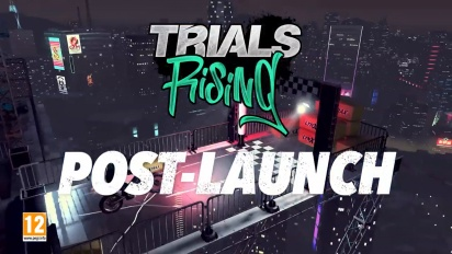 Trials Rising - Post-Launch -traileri