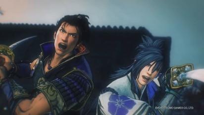 Samurai Warriors 5 - tarinatraileri