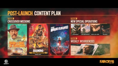 Far Cry 6 - Post Launch Overview Traileri
