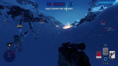 Star Wars Battlefront - Twilight on Hoth Gameplay