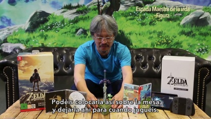 "The Legend of Zelda: Breath of the Wild - ""unboxataan"" erikoisversio Eiji Aonuman kanssa"